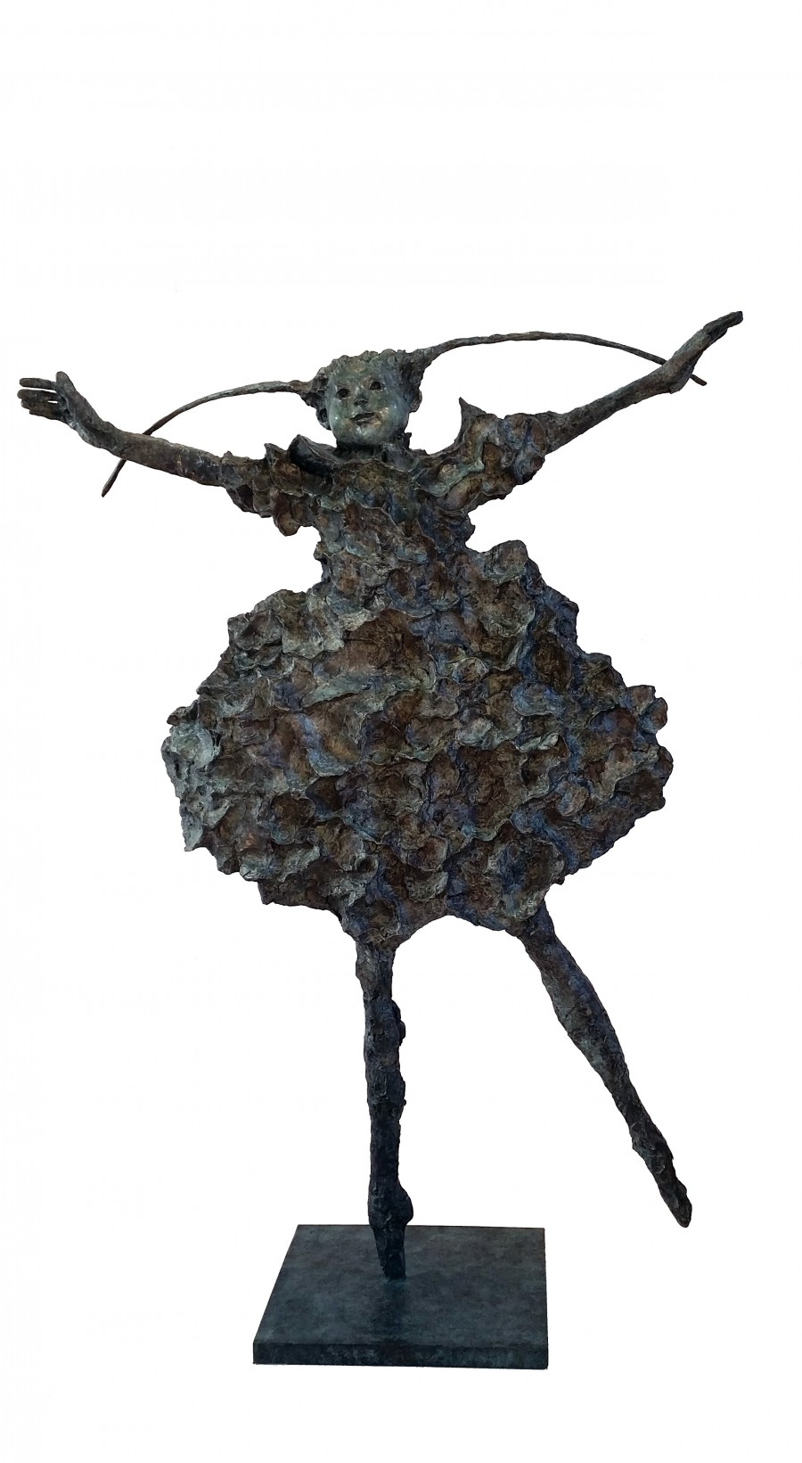 La pointe -  sculpture bronze H. 137x100 cm  - KERBAOL